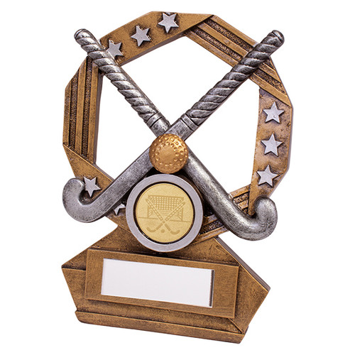 Enigma Hockey series trophy available in 3 sizes with FREE Engraving