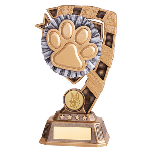 Euphoria Pet Paw Award available in 4 super sizes with FREE Engraving