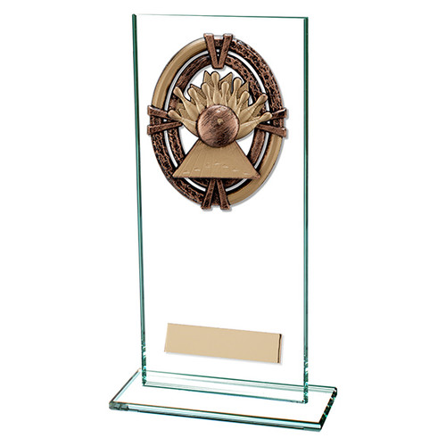 Maverick Legacy jade glass Ten Pin Trophy FREE Engraving