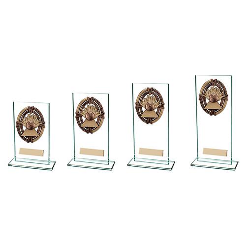 Maverick Legacy jade glass Ten Pin Trophy FREE Engraving