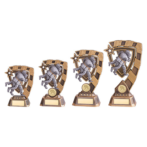 Euphoria Judo Award available in 4 super sizes with FREE Engraving