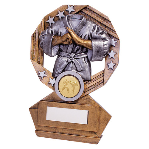 Enigma Karate series trophy available in 3 sizes with FREE Engraving