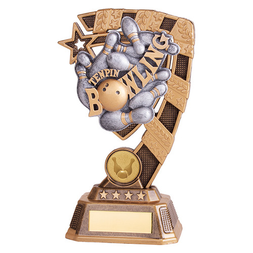 Euphoria Ten Pin Bowling Award available in 4 super sizes with FREE Engraving