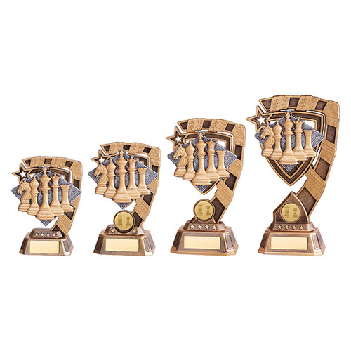 Euphoria Chess Award available in 4 super sizes with FREE Engraving