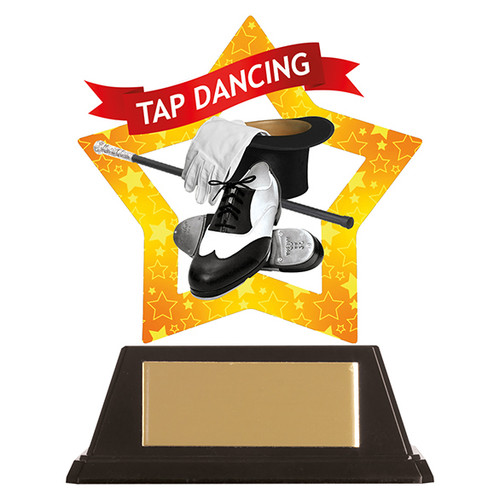 Tap Dancing acrylic award 1st Place 4 Trophies FREE engraving