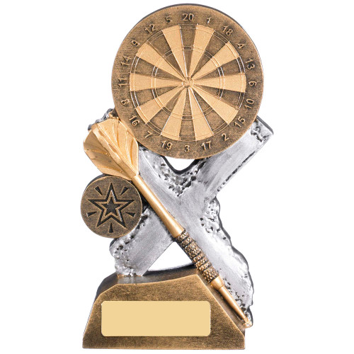 Extreme Darts trophy award available in 3 affordable sizes at 1st Place 4 Trophies