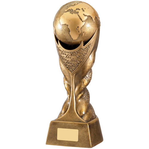 Martial Arts WORLD Trophy with FREE engraving