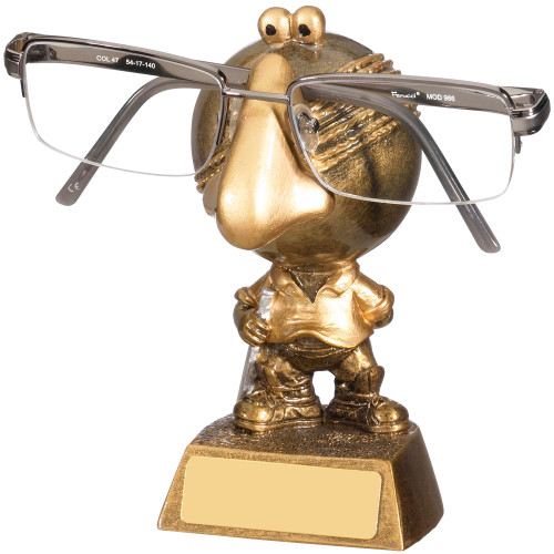 Novelty comic cricket specs holder gift perfect for any glasses wearing cricket fan