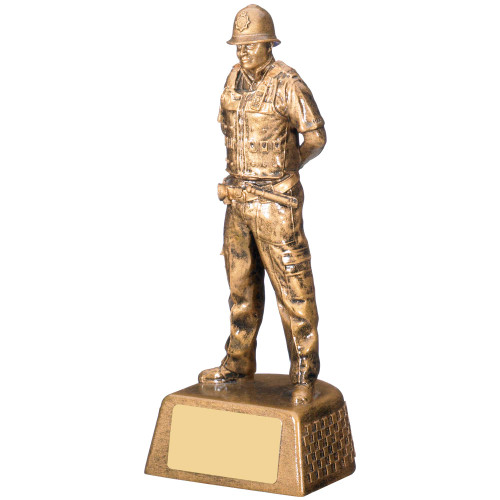 Male Police Award Emergency Services - FREE engraving