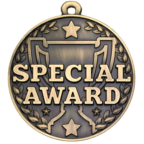 50mm high quality SPECIAL AWARD medal