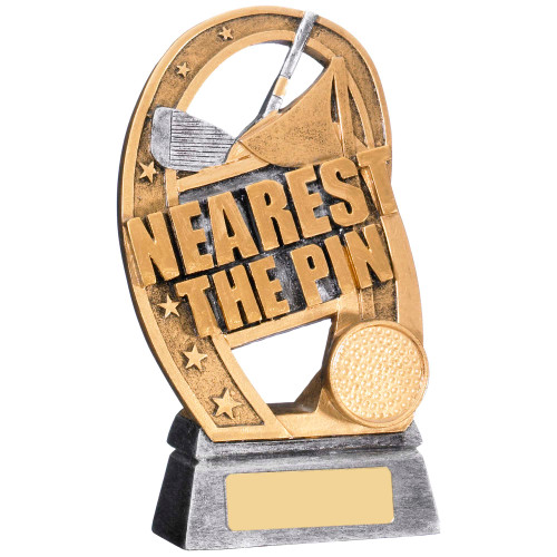Nearest the Pin golf award with FREE engraving