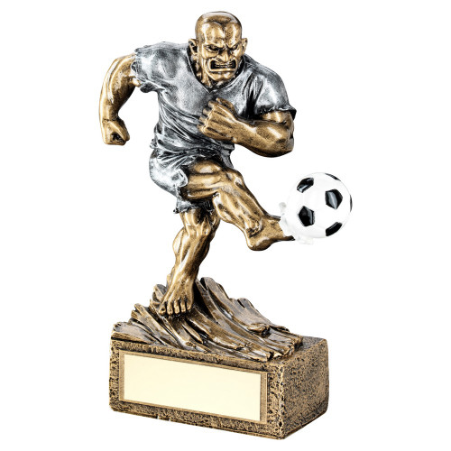 Football Beast novelty resin character trophy with FREE engraving