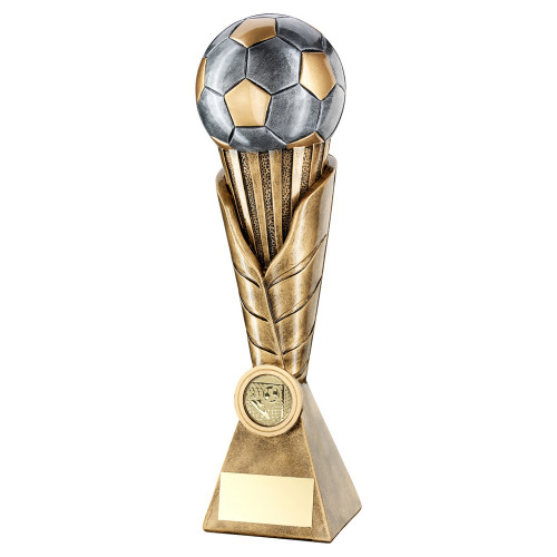 Full 3D Ball Football Trophy available in 4 sizes
