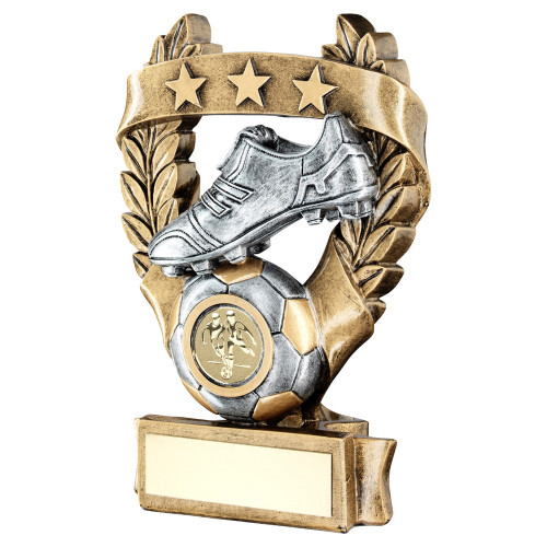Laurel Boot & Ball Football trophy with FREE engraving