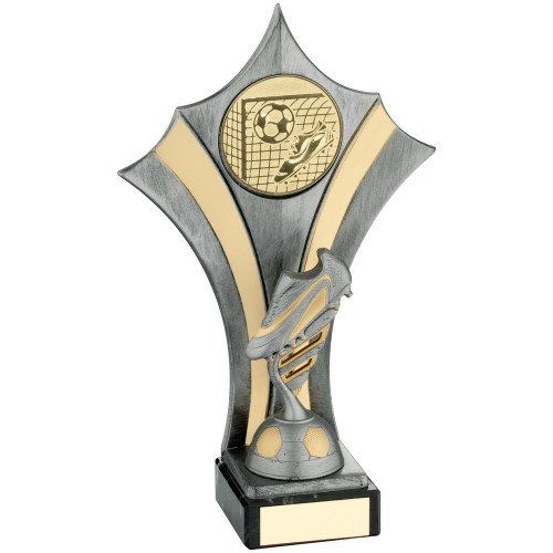 Gold & Silver Football Boot Award with FREE engraving