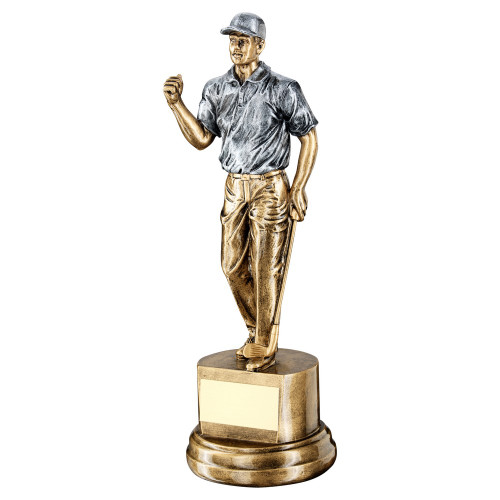 Gold & Silver male gold trophy in 3 sizes FREE engraving