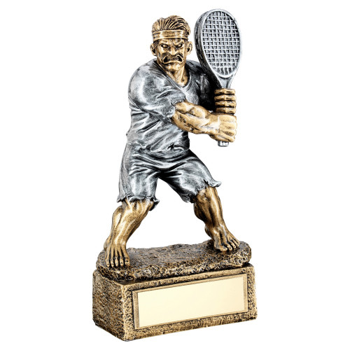 Tennis BEAST novelty trophy. FREE engraving at 1stPlace4Trophies