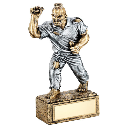 Darts BEAST novelty trophy. FREE engraving at 1stPlace4Trophies
