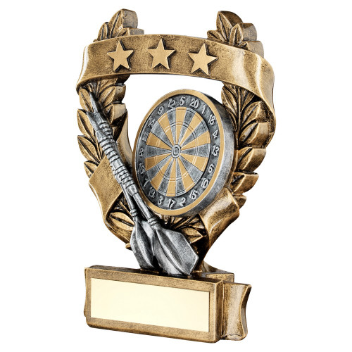 Darts award in 3 sizes at 1stPlace4Trophies