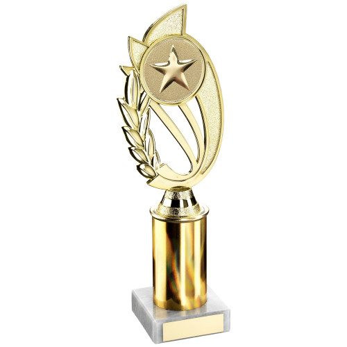 "10"" Gold Column Trophy includes FREE engraving"