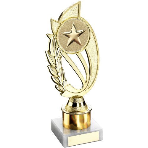 """8"""" Gold Column Trophy includes FREE engraving"""