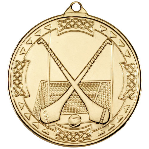 50mm Gold Hurling Medal Award