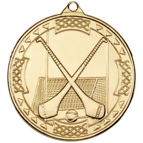 50mm Gold Hurling Medal Award
