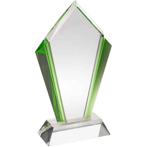 Premium Kite Glass corporate award at 1stPlace4Trophies