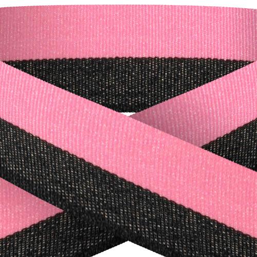 Pink & Black Medal Ribbon at 1stPlace4Trophies