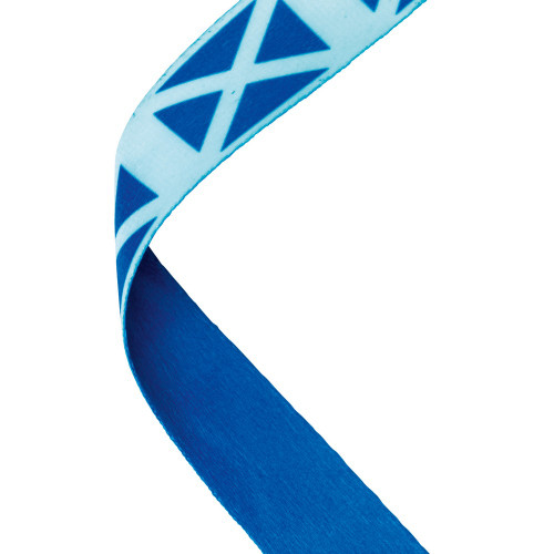 Scotland Flag Medal Ribbon at 1stPlace4Trophies