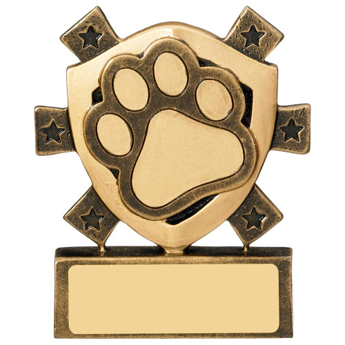 Mini shield Pets Award with FREE engraving