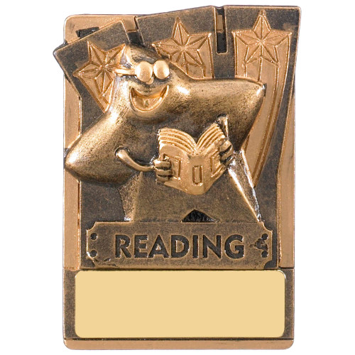 "3"" READING Magnetic Award with FREE engraving"