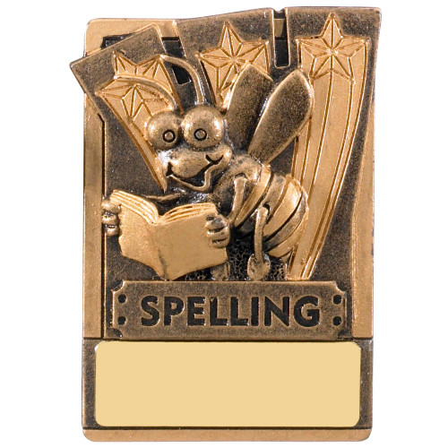 "3"" SPELLING Magnetic Award with FREE engraving"