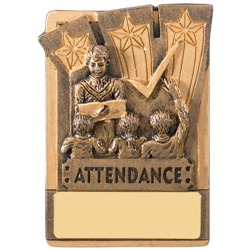 "3"" Attendance Magnetic Award with FREE engraving"