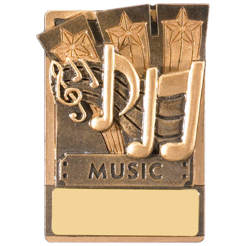 "3"" Music Magnetic Award with FREE engraving"