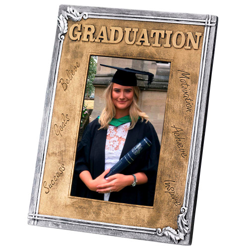 Graduation Photo Frame 6x4""