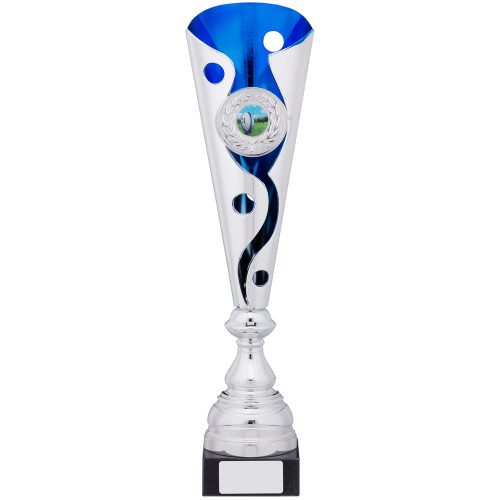 Supersize multisport swirl trophy with FREE engraving