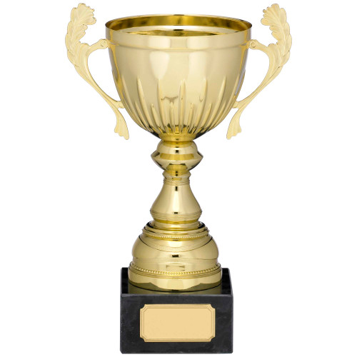 Gold presentation cup in 5 sizes with FREE engraving