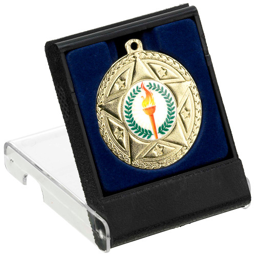 40-50mm Medal Presentation Box at 1st Place 4 Trophies