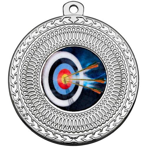 50mm Silver Multisport Circular Medal Award