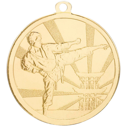 70mm Gold High Quality Die-cast Medal
