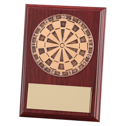 "4"" Horizon Darts Award Plaque at 1stPlace4Trophies"