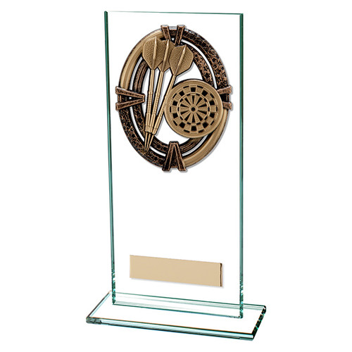 Maverick Legacy jade glass Darts Trophy FREE Engraving