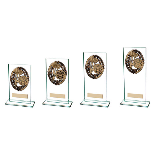 Maverick Legacy glass trophy in 4 sizes