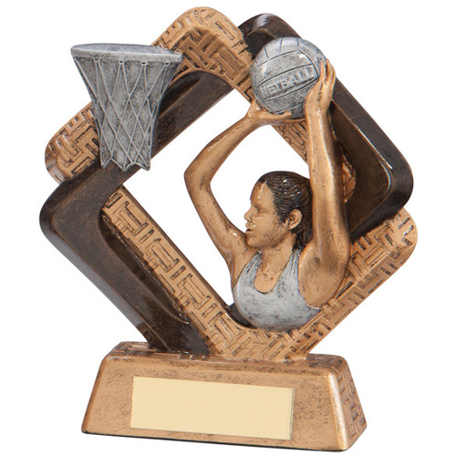 Sporting Unity Netball Trophy in 3 sizes