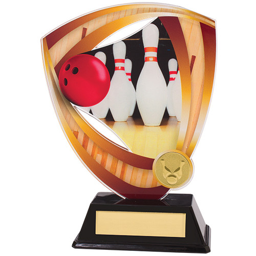 Fortress Ten Pin Bowling Award in 3 sizes