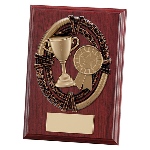 Maverick Apollo multisport mahogany plaque in 2 sizes