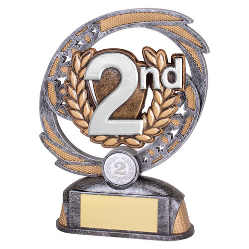 Sonic Boom 2nd Place Achievement Trophy with FREE engraving