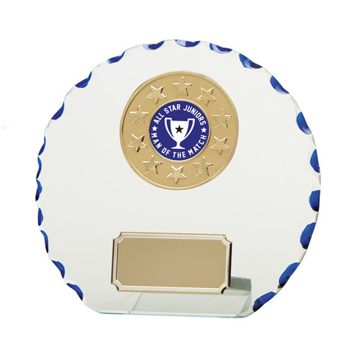 Quantum multisport glass award in 3 sizes