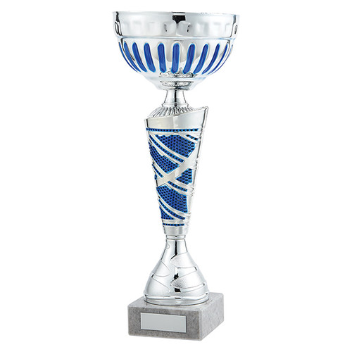 Charleston Silver & Blue Classic Presentation Cup at 1st Place 4 Trophies